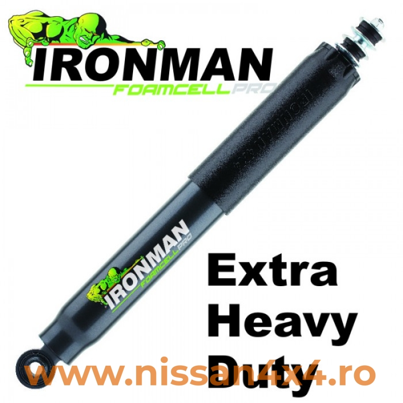 "Amortizor SPATE, Foamcell PRO, lift 0-2"", pt Nissan NP300 , D23 (Ironman)"